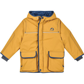 Finkid Talvi Winter Jacket Kids golden yellow/navy